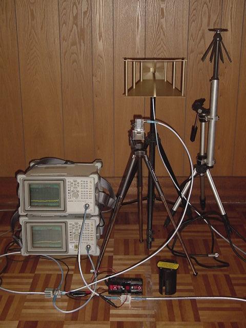 高周波測定器一式